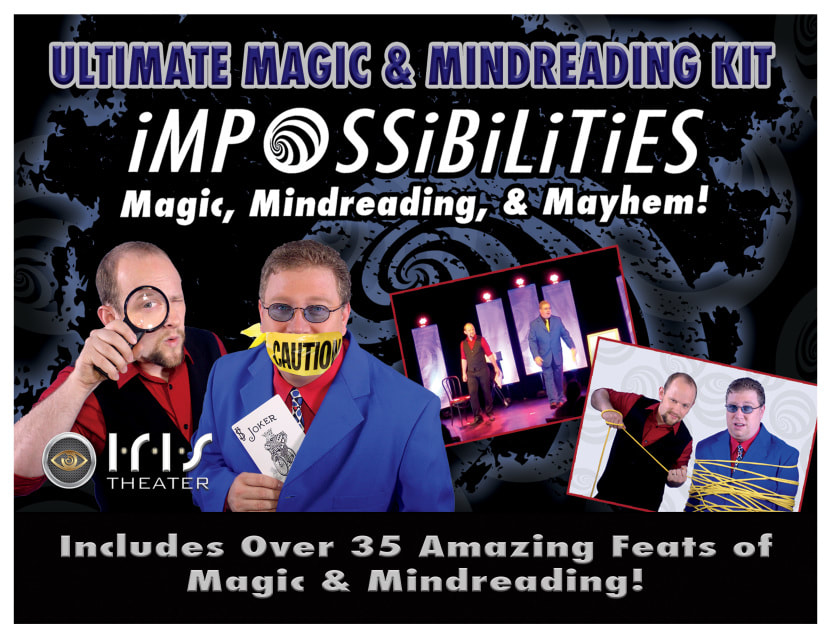 Free Magic Lesson with Erik Dobell from Impossibilities in Gatlinburg